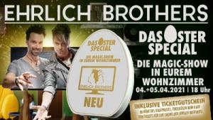Die Magic-Show in Eurem Wohnzimmer - LIVE