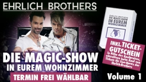 DIE MAGIC-SHOW IN EUREM WOHNZIMMER Volume 1 steht jetzt als Stream!