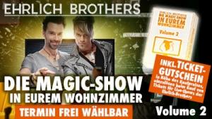DIE MAGIC-SHOW IN EUREM WOHNZIMMER - Volume 2 steht jetzt als Stream!