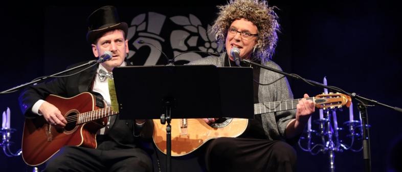 Silberhochzeit, Prost! Duo Ohrenschmaus - 25 Jahre hessische Musikcomedy