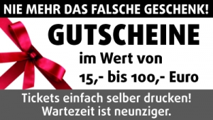 Print Your Ticket - Gutschein